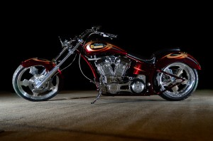The Giveaway Bike. I used off-camera SB600's and digitally removed background to achieve this look.